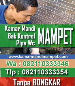 Saluran Wc Mampet